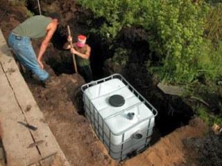 Как правильно закопать септик